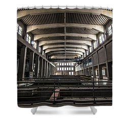 Seaholm Power Plant Shower Curtain