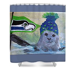 Sealing The Deal Shower Curtain