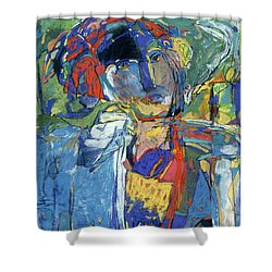 Seaman Shower Curtain