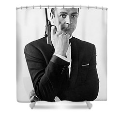 Sean Connery (1930-) Shower Curtain