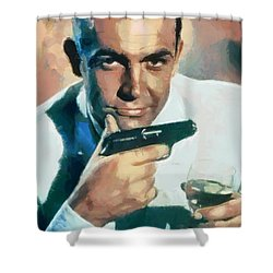 Sean Connery Shower Curtain