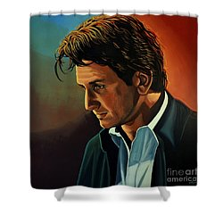 Sean Penn Shower Curtain