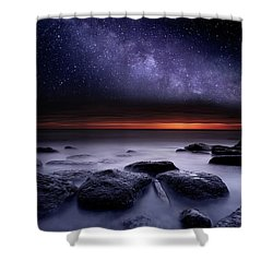 Search Of Meaning Shower Curtain by Jorge Maia