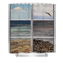 Searching For Freedom Shower Curtain