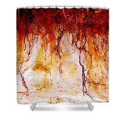 Searching Shower Curtain by Holly Kempe