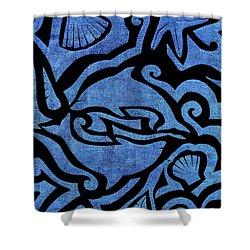 Seascape Cut-out Shower Curtain