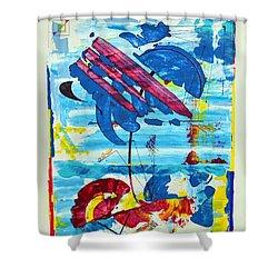 Seashore Holiday Shower Curtain