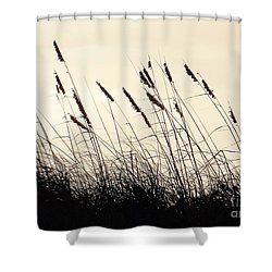 Seaside Oats Shower Curtain