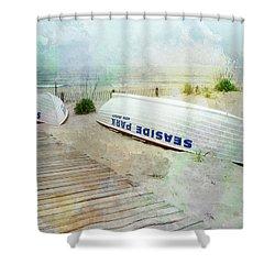 Seaside Park Shower Curtain
