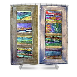 Seasides Shower Curtain