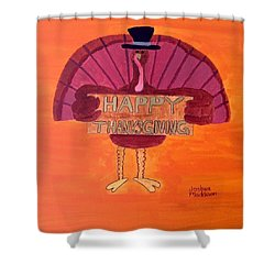 Tradition Exhibit Holiday Shower Curtain