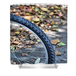Seasonal Cycle Shower Curtain by JAMART Photography