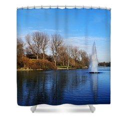 Seasons Shower Curtain by Bernd Hau