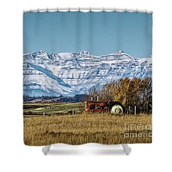 Season's End Shower Curtain