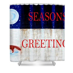 Seasons Greetings 13 Shower Curtain by Patrick J Murphy