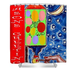 Seasons Greetings 60 Shower Curtain by Patrick J Murphy