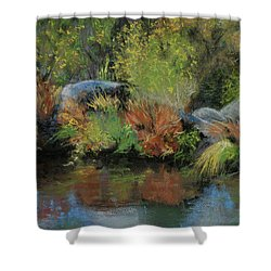 Seasons In Transition Shower Curtain