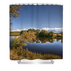Seasons Of Change Shower Curtain by Deborah Klubertanz