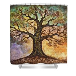 Seasons Of Life Shower Curtain