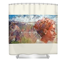 Seasons Of Sweetgrass Shower Curtain