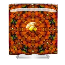 Shower Curtain featuring the digital art Seasons by Robert Orinski