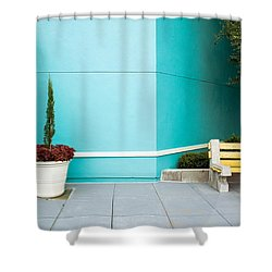 Seated Shower Curtain