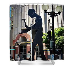 Seattle Art Shower Curtain