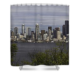 Seattle At Its Best Shower Curtain
