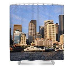 Seattle Pier 54 Shower Curtain