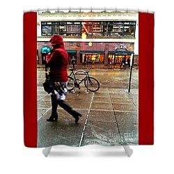 Seattle Rain Shower Curtain