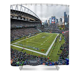 Seattle Seahawks Centurylink Field Shower Curtain
