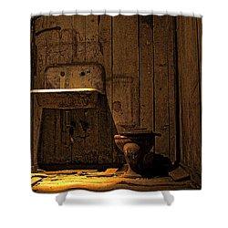 Seattle Underground Bathroom Shower Curtain by David Patterson