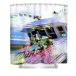 Seattle Washington 3 Shower Curtain
