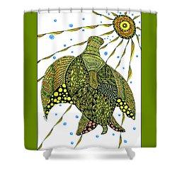 Seaturtle  Shower Curtain