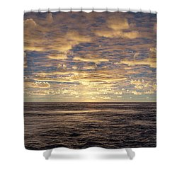 Shower Curtain featuring the photograph Seaview by Mark Greenberg