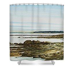 Seawall Mt. Desert Island Shower Curtain