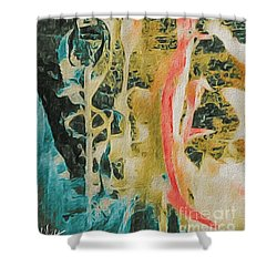 Seaweed Shower Curtain by William Wyckoff
