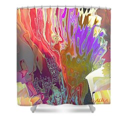 Seaweeds Shower Curtain