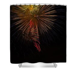 Seaworld Fireworks 3 Shower Curtain