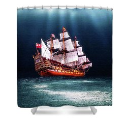 Seaworthy Shower Curtain