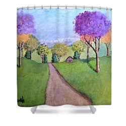 Secluded Shower Curtain