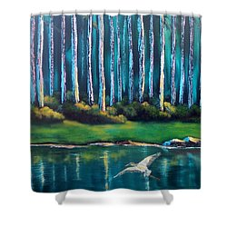Secluded II Shower Curtain