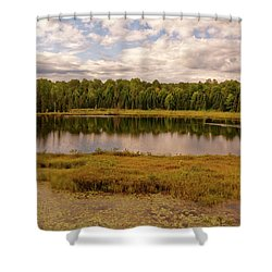 Secluded Lake Shower Curtain