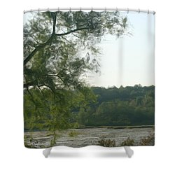 Secluded Marsh Shower Curtain by Smilin Eyes  Treasures