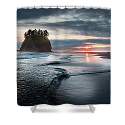 Second Beach #1 Shower Curtain
