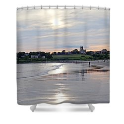 Second Beach Newport Ri Shower Curtain