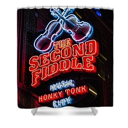 Second Fiddle Shower Curtain