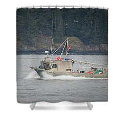 Shower Curtain featuring the photograph Second Wind by Randy Hall