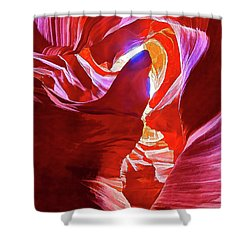 Secret Canyon 1 Shower Curtain