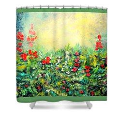 Secret Garden 2 - 150x90 Cm Shower Curtain